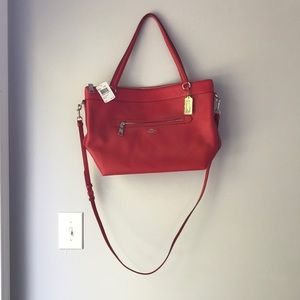 Never Used Red Coach Purse